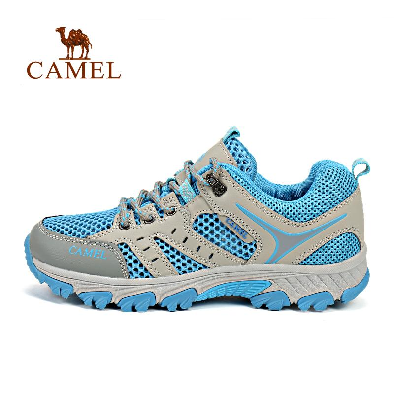 Camel Women s low-cut Outdoor hiking shoes mesh Breathable Climbing Shoes  Wear-Resistance Anti 727969fd411