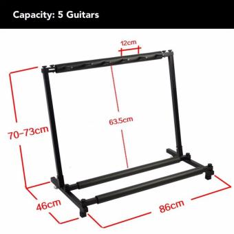 5 Heads Guitar Stand