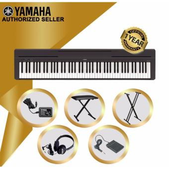 Authorized Seller - Yamaha P-45 Digital Piano - With Keyboard Stand & Bench