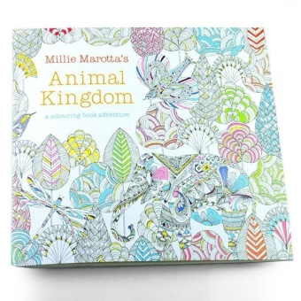 For Children Coloring Books Painting Secret Lalang Garden Nella Fantasia Book Black And White