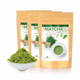 100% Natural Matcha Green Tea Powder-3Packs Bundle Deal