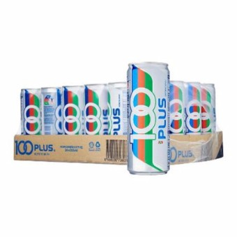 100 Plus - 330 ml x 24 cans