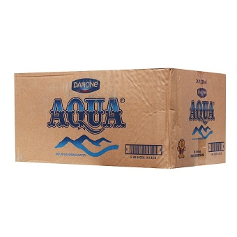 AQUA Mountain Spring Water 24 x 330ml