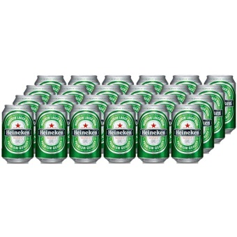Heineken Beer Cans - 24 x 330 mL