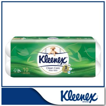 Kleenex Clean Care Bath Tissue Aloe Vera 10x200sheets
