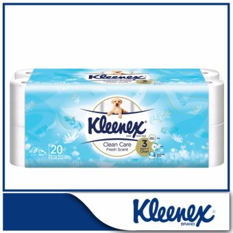 Kleenex Clean Care Bath Tissue Fresh Scent 20x200sheets