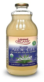 Lakewood Organic Pure Aloe Vera Gel - 32oz