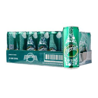 PERRIER Sparkling Mineral Water (Can) 24 x 330ml