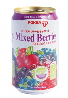 Pokka Mixed Berries & Carrot Juice Drink 300ML x 24