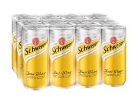Schweppes Tonic Water - 12 x 320ML CASE
