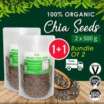? Value Bundle 1+1 ? Organic Chia Seeds [500g] x2 ~ FREE SHIPPING