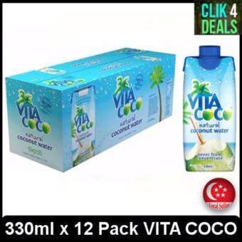 VITA COCO Natural Coconut Water 330ml x 12 packs