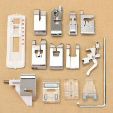 14pcs Domestic Snap Presser Foot Set For Viking Husqvarna Sewing Machines - Intl