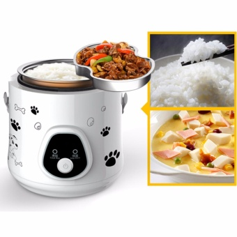 1.6L Mini Electric Rice Cooker portable Small Rice Cooker for1-3people 280W Student smart rice cooker - intl