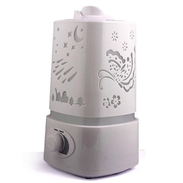 RC-Global Humidifier Air Fresher 5 in 1 Ultrasonic humidifier Aroma oil Diffuser air purifier (Free Essential Oil 10ml)  五彩熏香加湿机) Singapore