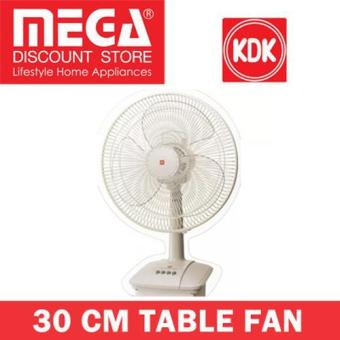 Kdk A30As 30Cm Table Fan (Silver)
