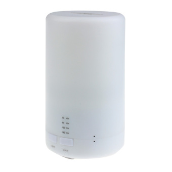 LED USB Essential Oil Ultrasonic Air Humidifier Aroma therapy Diffuser White