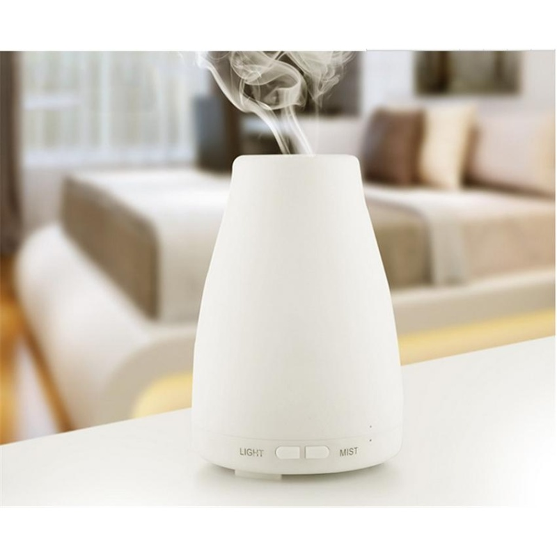 nonvoful 100ml Essential Oil Diffuser,Portable Ultrasonic Aroma Cool Mist Air Humidifier Purifiers With 7 Color LED Lights Changing For Home Office - intl Singapore