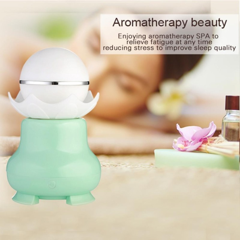 nonvoful USB Ultrasonic Aroma Humidifier Colorful LED Lights Home Air Diffuser Purifier - intl Singapore