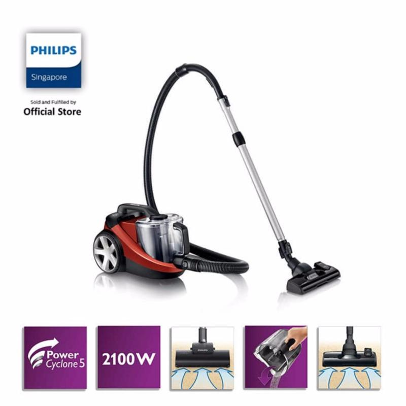 Free TriActive Nozzle FC8075 (While Stock Last) with Philips PowerPro Bagless vacuum cleaner - FC8767/61 Singapore