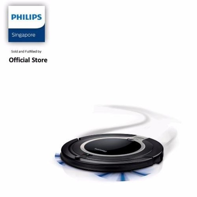 Free 2Pcs Floor Mats (While Stock Last) with Philips SmartPro Compact Robot vacuum cleaner - FC8710/01 Singapore