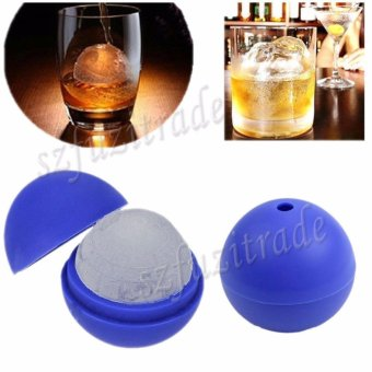 Silicone Ice Cool Death Star Ice Tray Ice Cube DIY Mould PuddingJelly Mold - intl