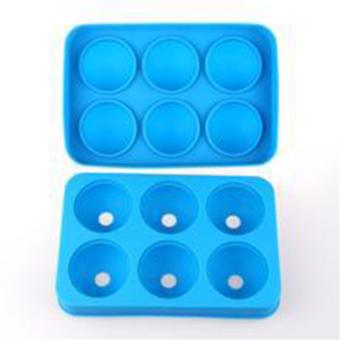 Whiskey Ice Cube Ball Maker Mold Sphere Mould Party Tray Round BarSilicone - intl