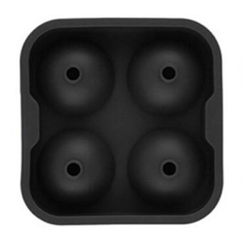 Whiskey Silicon Ice Cube Ball Maker Mold Sphere Mould Brick PartyTray Round Bar Black - intl
