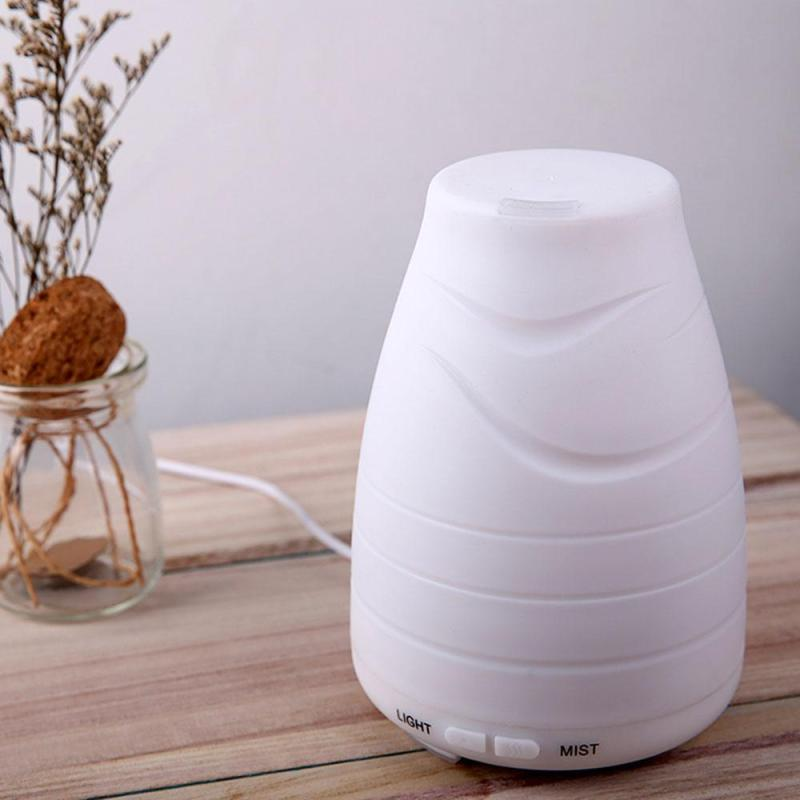 XUNMEI 100ml Essential Oil Diffuser,Portable Ultrasonic Aroma Cool Mist Air Humidifier Purifiers With 7 Color LED Lights Changing For Home Office Singapore