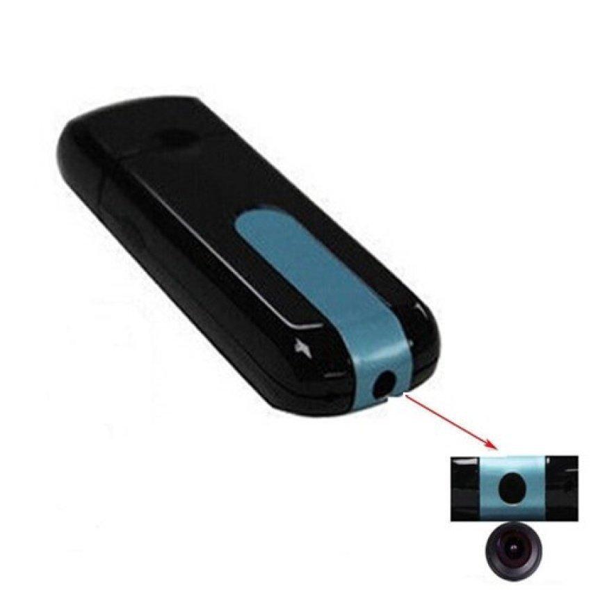 32G TF Card Mini Camera U8 USB Disk HD Spy Recorder (Black) - intl