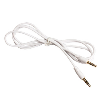 3.5mm Audio Adapter Auxiliary Cable Cord for iPod MP3 Car White