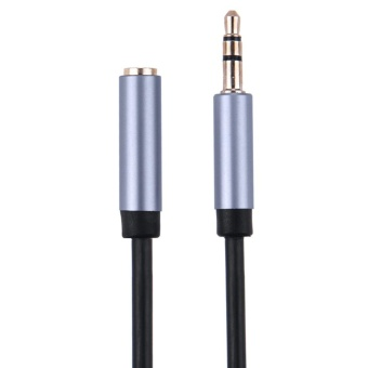 3.5mm Female to Male Audio Wire Extension Cable Adapter1m/3.3ft(Black) - intl