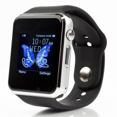 A1 Bluetooth Smart Wristband Sim Sd Card Watch For Android / Ios (black) - Intl