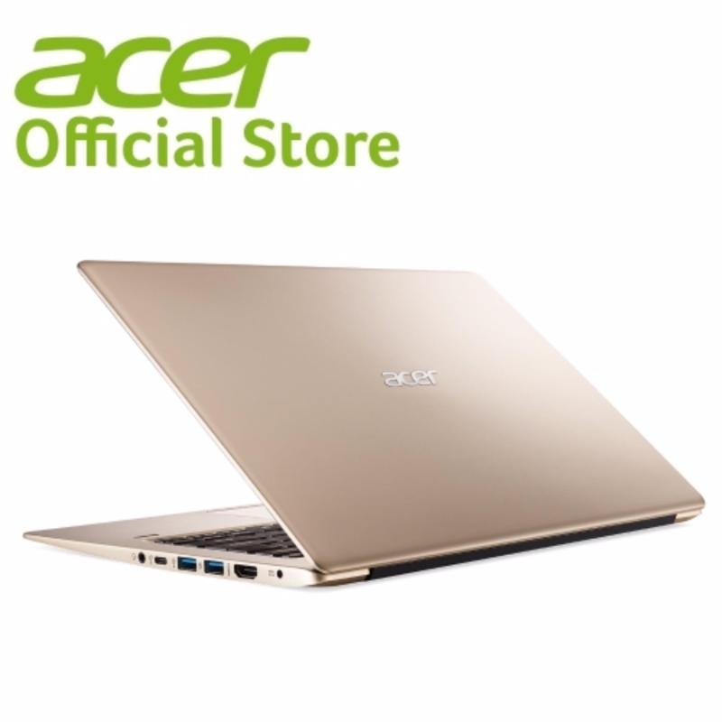 Acer Swift 1 (SF113-31-C2V8) 13.3 FHD IPS Ultrathin Celeron N3350/4GB RAM/128GB SSD Laptop (Gold)