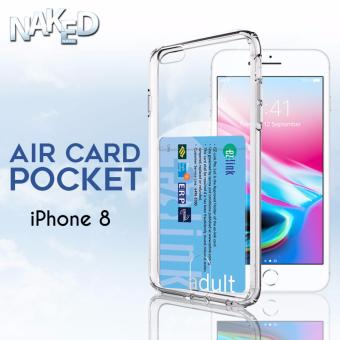 Air Card Pocket Apple iPhone 8 Case [Card Slot]