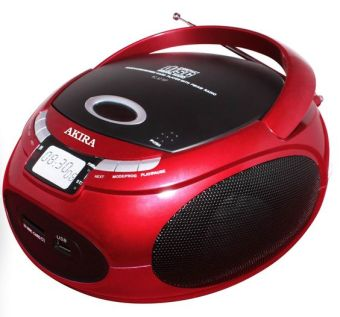 Akira RC-921 MP Portable CD/ Radio Boombox