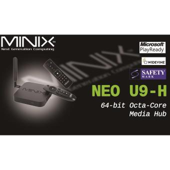 Android MiniX Neo U9-H (Newest) 4K TV Media Box + A3 Air Mouse + IPTV 3 YEARS