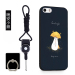 Apple 5s phone shell iPhone5s mobile phone sets for men and womense anti-wrestling Apple five silicone soft shell cartoon tide