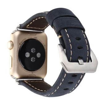 Apple watch3/iwatch2/42mm casual Apple watch strap leather watch strap