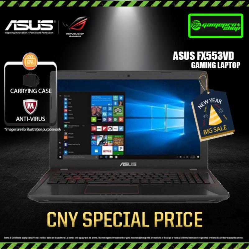 ASUS FX553VD GTX1050 256GB SSD 15.6 Gaming Laptop *CNY PROMO*