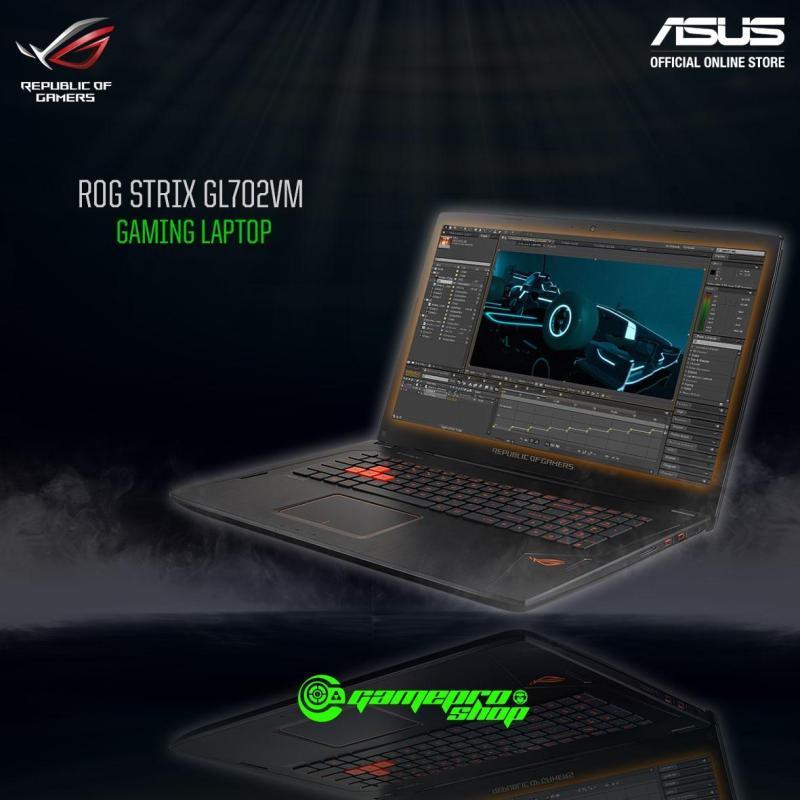 Asus ROG Strix GL702VM - I7-7700HQ (GTX1060 6GB) Gaming Laptop *IT SHOW PROMO*