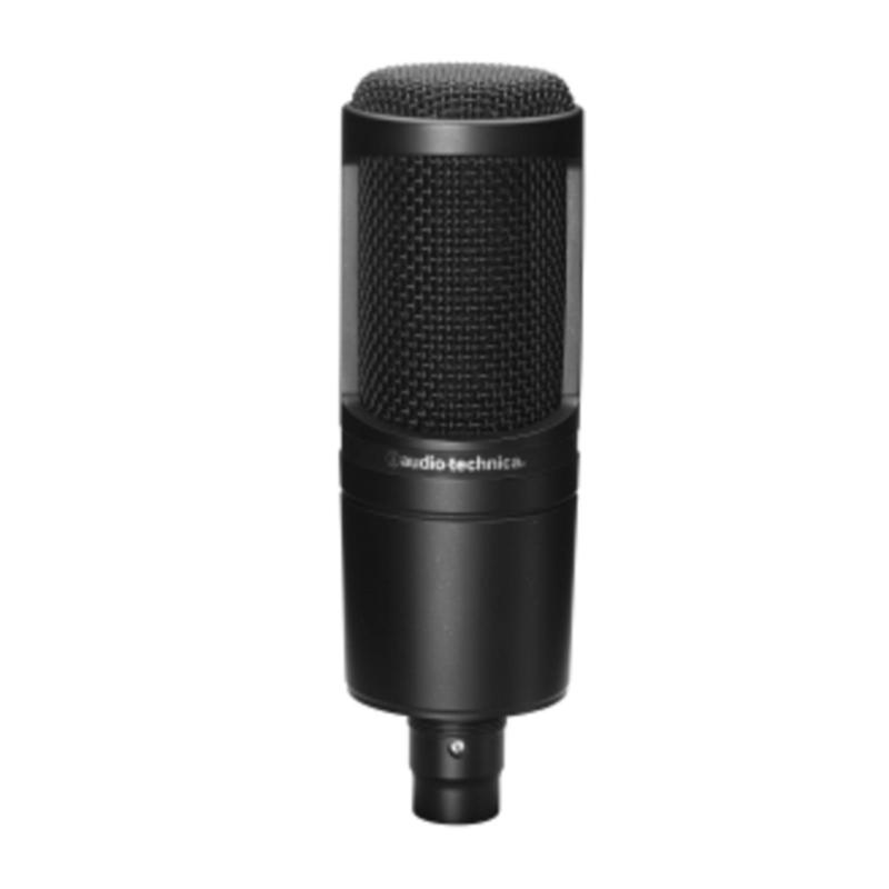Audio-Technica AT2020 XLR Cardioid Condenser Microphone (NON-USB) Singapore