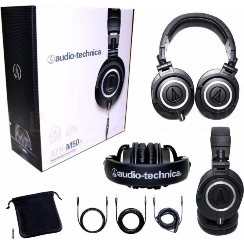 Audio-Technica ATH-M50X Studio Monitor Professional Headphones Singapore