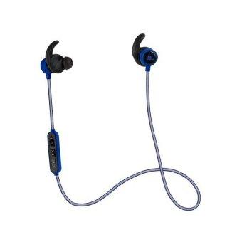Authentic JBL Reflect Mini BT Bluetooth Sport Headphone (Blue)