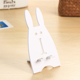 Cartoon cute desktop mobile phone holder to watch TV live multifunction mobile phone bracket flat bracket mobile phone holder
