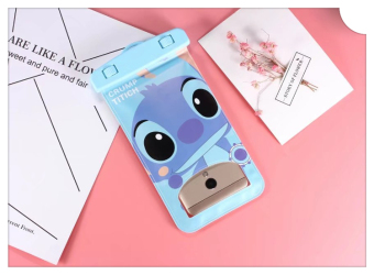 Cartoon mobile phone waterproof bag Apple oppo universal type moisture-proof bag vivo Baba dad phone bag transparent