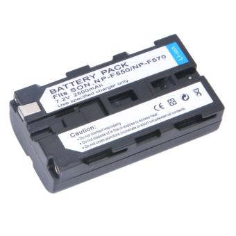 Chromage NP-F550 Lithium Ion Battery for Sony Cameras/LED Lights