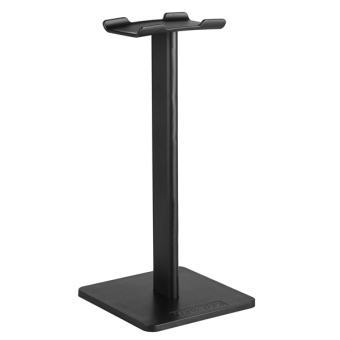 Compact Aluminum Display Headphone Stand Earphone Bracket (Black)