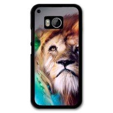 Dont Source Cool Art Lion Carton Phone Case For HTC M9 Multicolor intl .