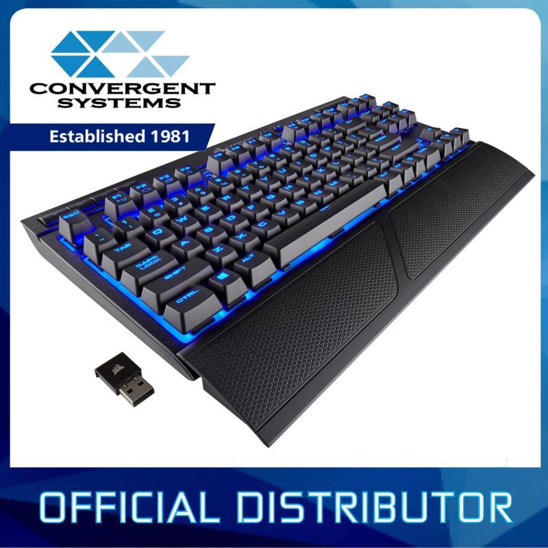 Corsair K63 Wireless Cherry MX Red Mechanical Gaming Keyboard - Blue LED Singapore